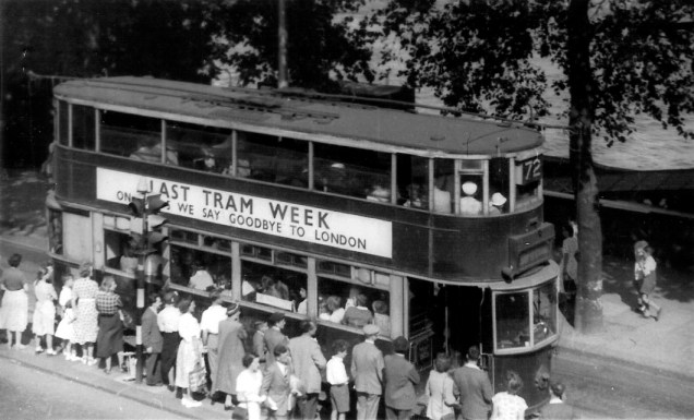 London's last trams week