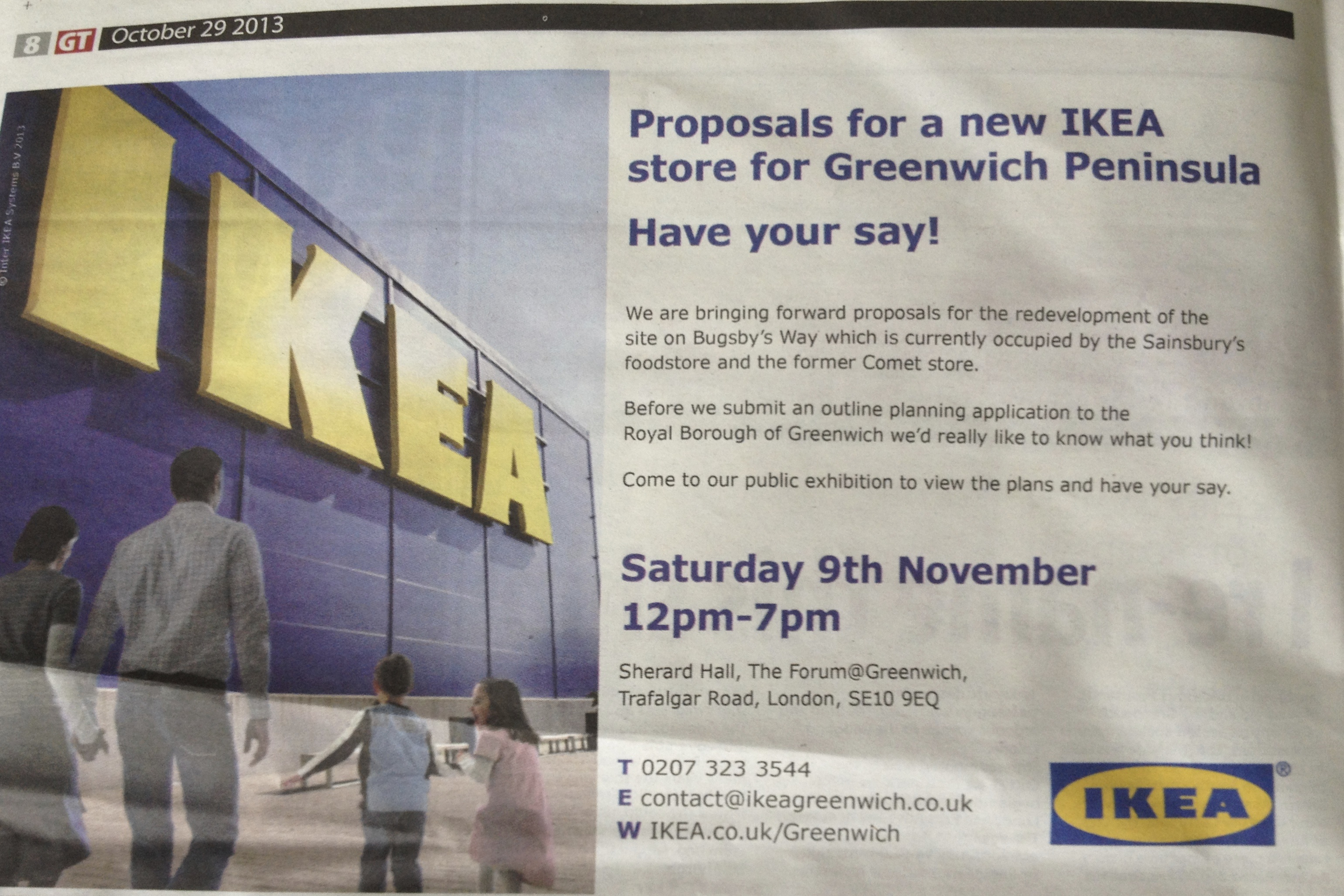 IKEAs Plans For Bugsbys Way Public Exhibition 9th