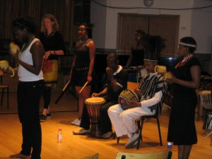 Christine Wambui ensemble UCT performance