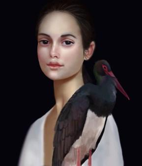 Miss Black Stork