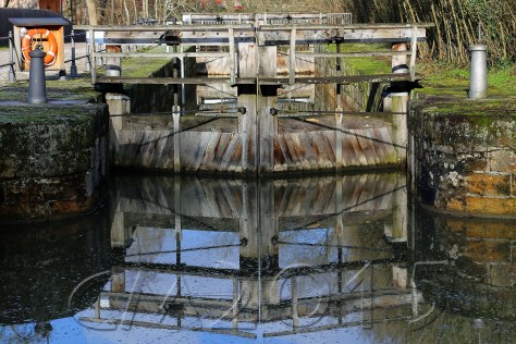 Schleuse 100 alter Ludwig-Donau-Main-Kanal Bamberg, Autor: Charlotte Moser
