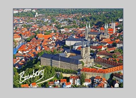 Bambergpostkarte Mibg+Dom_kl, autor: Charlotte Moser