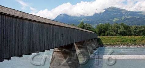 Grenzbrücke Liechtenstein-Schweiz, autor: charlotte moser