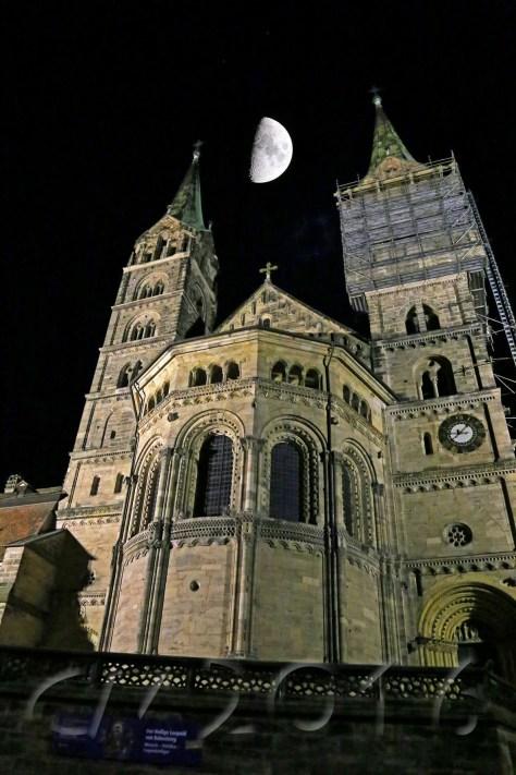 Unterwegs mit dem Nachtwächter Bamberg, Bamberger Dom, Autor: Charlotte Moser
