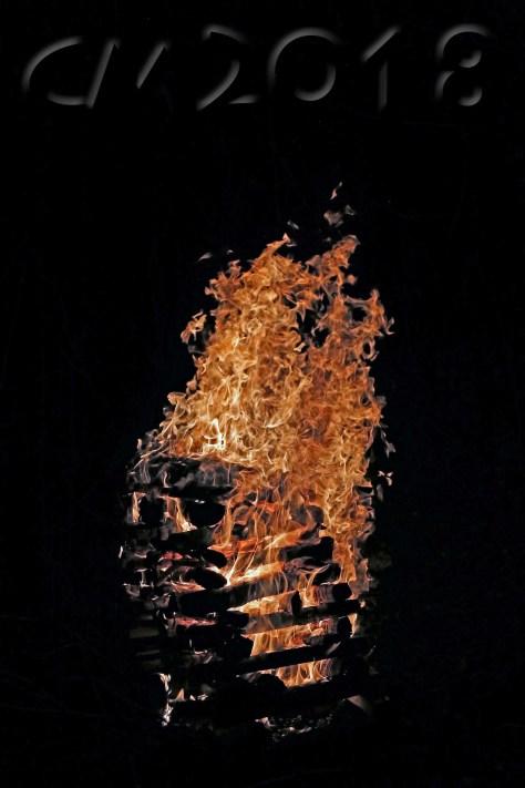 Feuer beim Lichterfest Pottenstein, Autor: Charlotte Moser