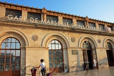 Marseille Saint-Charles, autor: charlotte moser