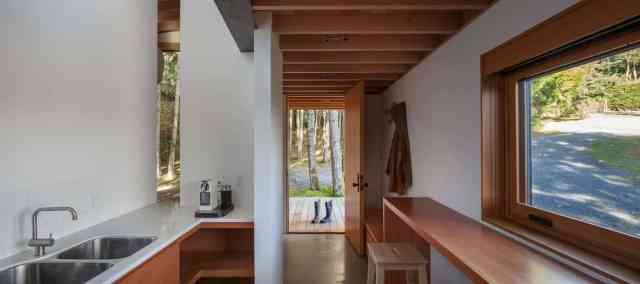 密集したブリティッシュコロンビアの森の巣の芸術家の家by Agathom(7)
