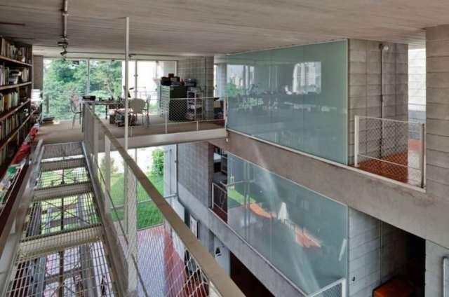 ケロシンハウス-GrupoPSによるモダンコンクリートの家(6)