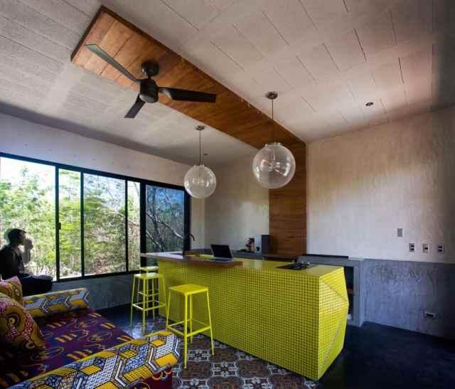 トゥルムメキシコの活気ある家T-House homesthetics architecture(12)