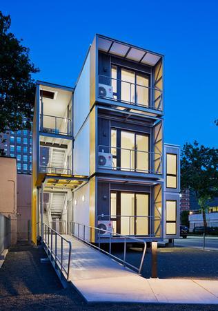 ギャリソンアーキテクトがニューヨークの災害後の住宅を設計