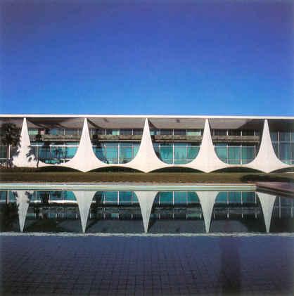 オスカー・ニーマイヤー・ホームステイティクスによる真に象徴的な現代の邸宅-ブラジルのパラシオ・ダ・アルボラーダ