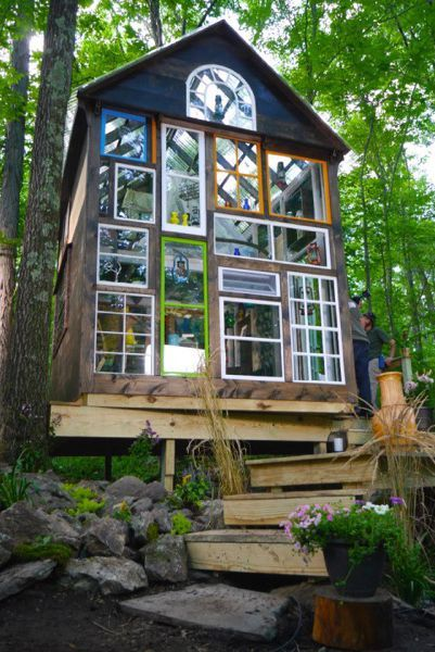 小さな家の庭のアイデア