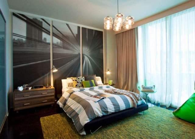 寝室の写真デザインインテリア