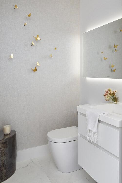 トイレの白塗りパレット