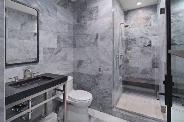 ビーチスタイルのバスルーム