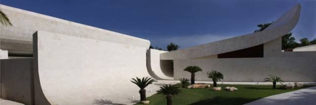 ドミニカ共和国のA-ceroによる大規模なコンクリートの家(3)