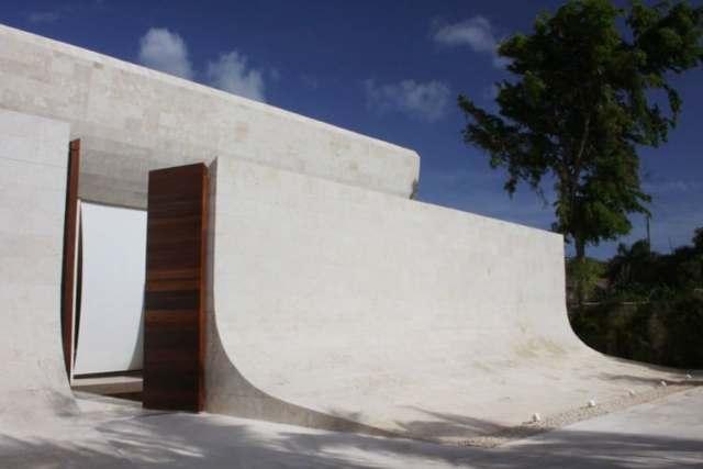 ドミニカ共和国のA-ceroによる大規模なコンクリートの家(37)