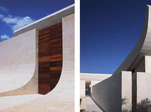 ドミニカ共和国のA-Ceroによる大規模なコンクリートの家(38)