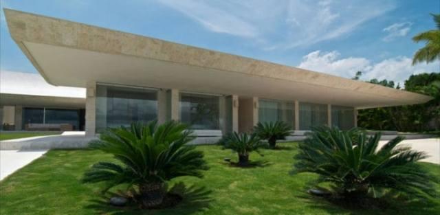 ドミニカ共和国のA-ceroによる大規模なコンクリートの家(41)