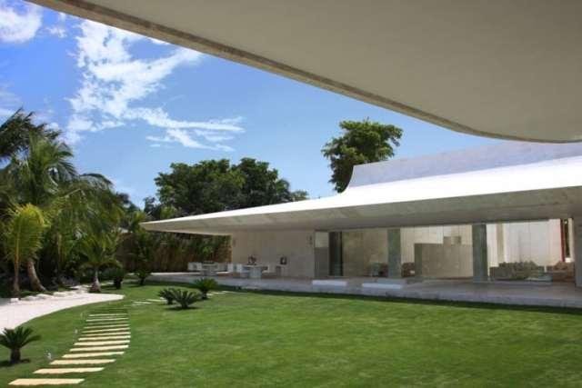 ドミニカ共和国のA-ceroによる大規模なコンクリートの家(5)