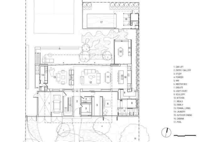 マット・ギブソン・アーキテクチャーがメルボルンのコンクリート・ホームのデザインを設計(21)
