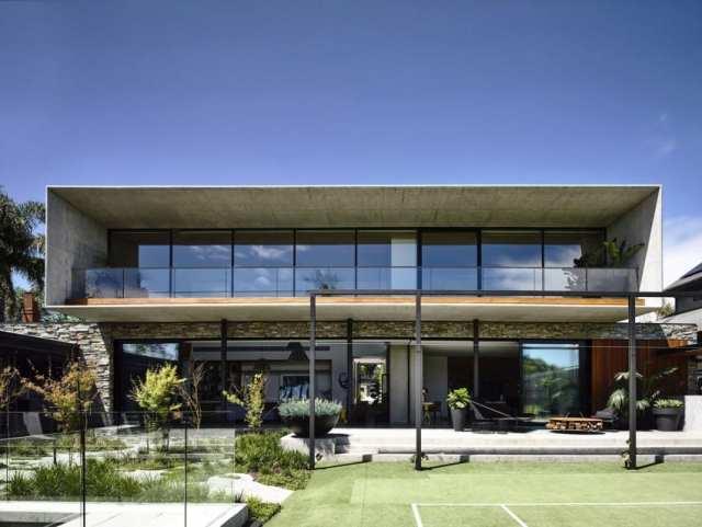 マット・ギブソン・アーキテクチャーがメルボルンのコンクリート・ホームのデザインを設計(7)