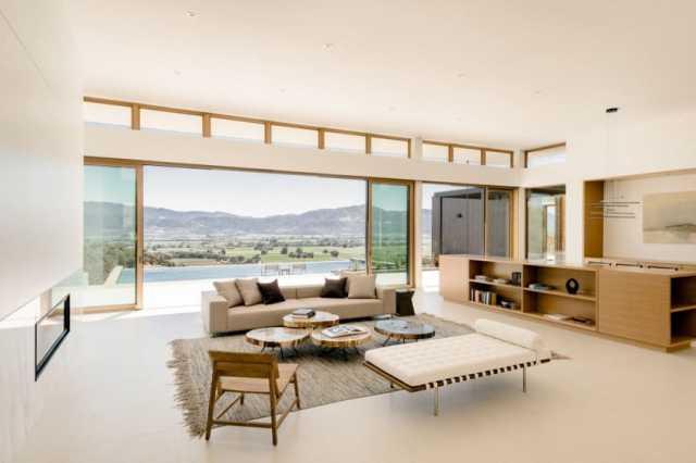 ジョン・マニスカルコの美学装飾によるオークビルの素晴らしい現代的な家(7)