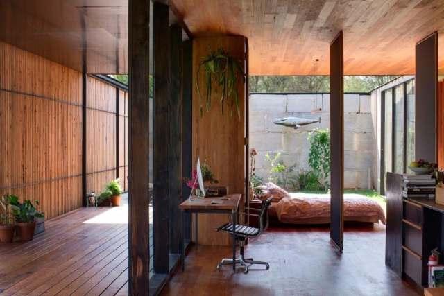 オーストラリアの製材所を定義する記憶を備えた再生コンクリートブロックhomestheticsマガジンの現代住宅(12)