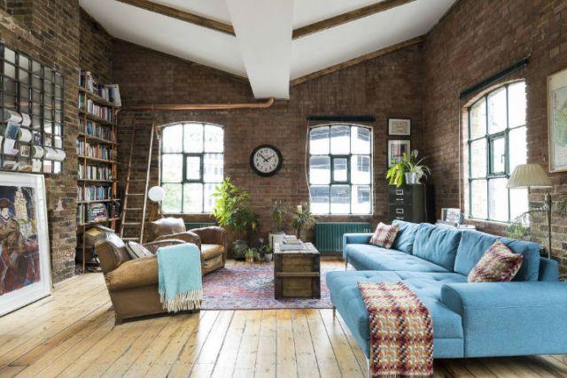 ロンドン倉庫は産業用住宅に変身14