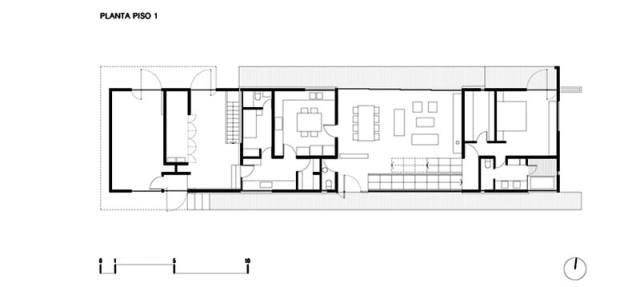 ChauriyeStägerArchitectsによるチリの見事なコンクリートの家(10)