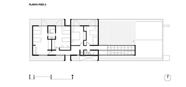 ChauriyeStägerArchitectsによるチリの見事なコンクリートの家(11)