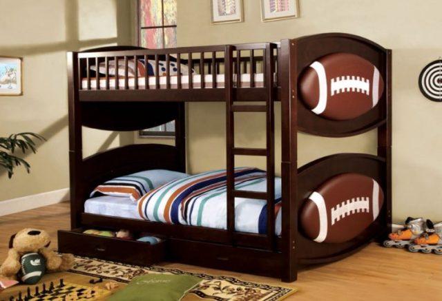 子供用ビルトイン二段ベッドのアイデア