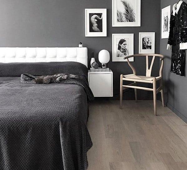 ギャラリーの壁の寝室の壁の装飾のアイデア