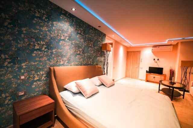 入り江と周囲の寝室の照明のアイデア2
