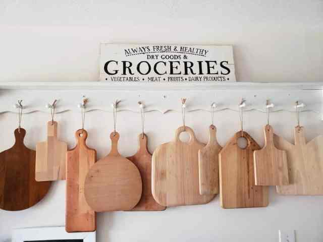 まな板の壁キッチンの壁の装飾のアイデアgraceupongrace_katie