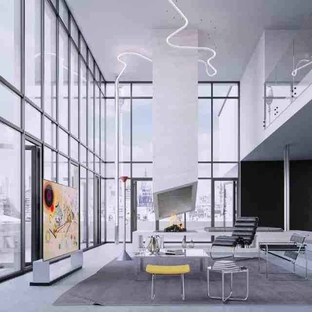 デザインリビングルームの装飾のアイデアIhomeslondon