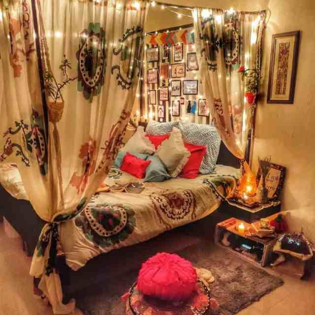 折衷的またはジプシー自由奔放に生きる寝室のアイデアthevworld_