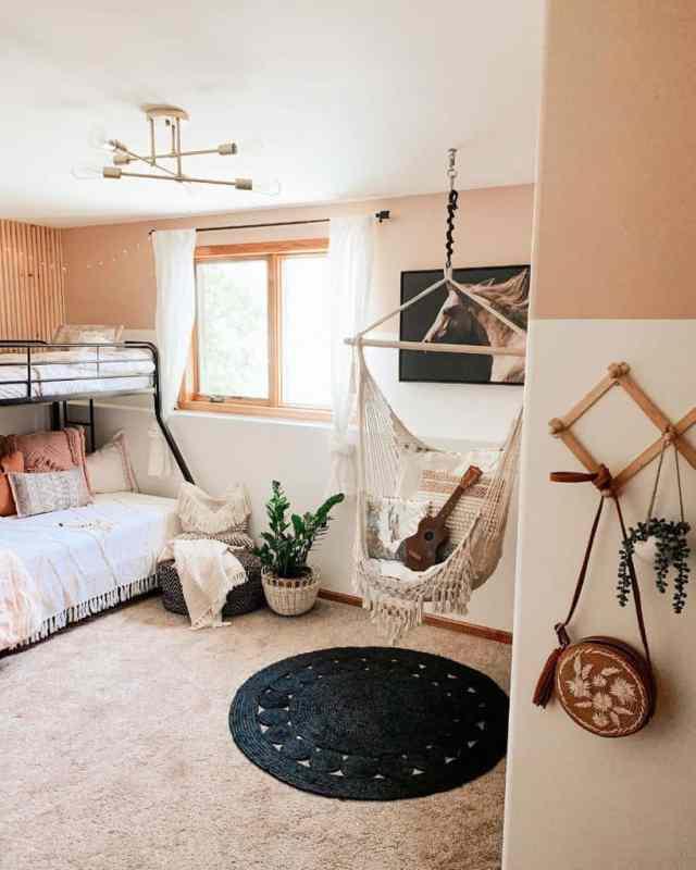 キッズルーム自由奔放に生きる寝室のアイデアthesistersdwelling