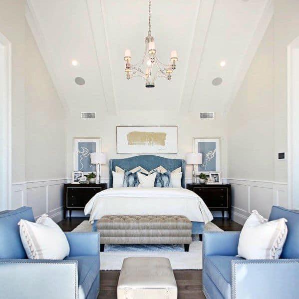 豪華なロマンチックなベッドルームのアイデア