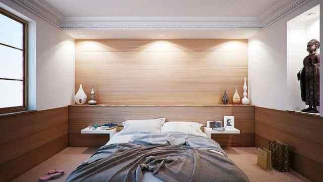 ミニマリストのモダンなベッドルームのアイデア4