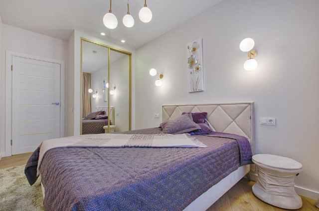 オーブの寝室の照明のアイデア1
