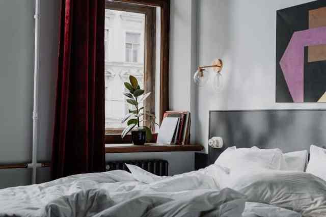 スコーンと壁の光の寝室の照明のアイデア1