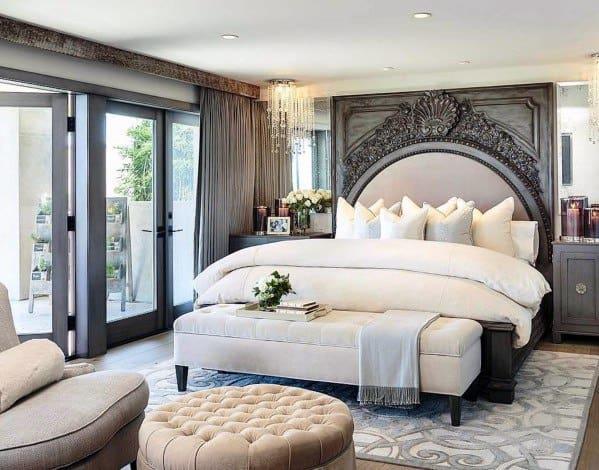 ヴィンテージのロマンチックなベッドルームのアイデア