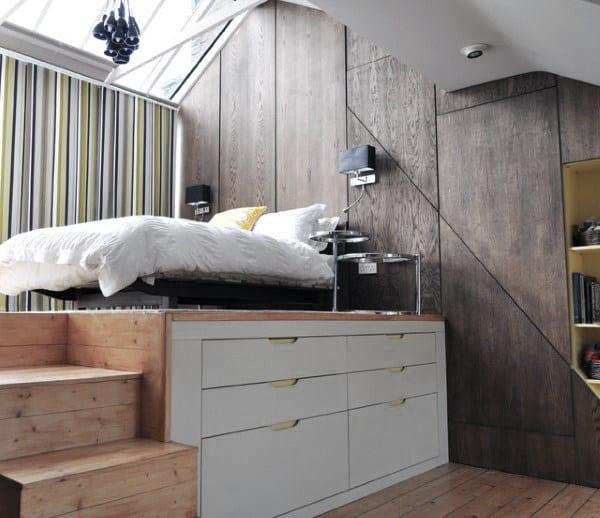 クールでモダンなベッドルームのアイデア