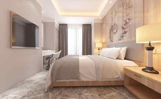 スタイリッシュでモダンなベッドルームのアイデア2