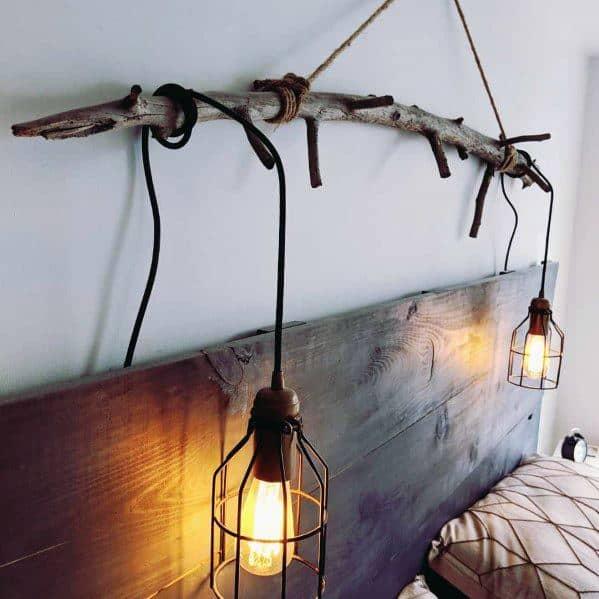 素朴または工業用照明のアイデア