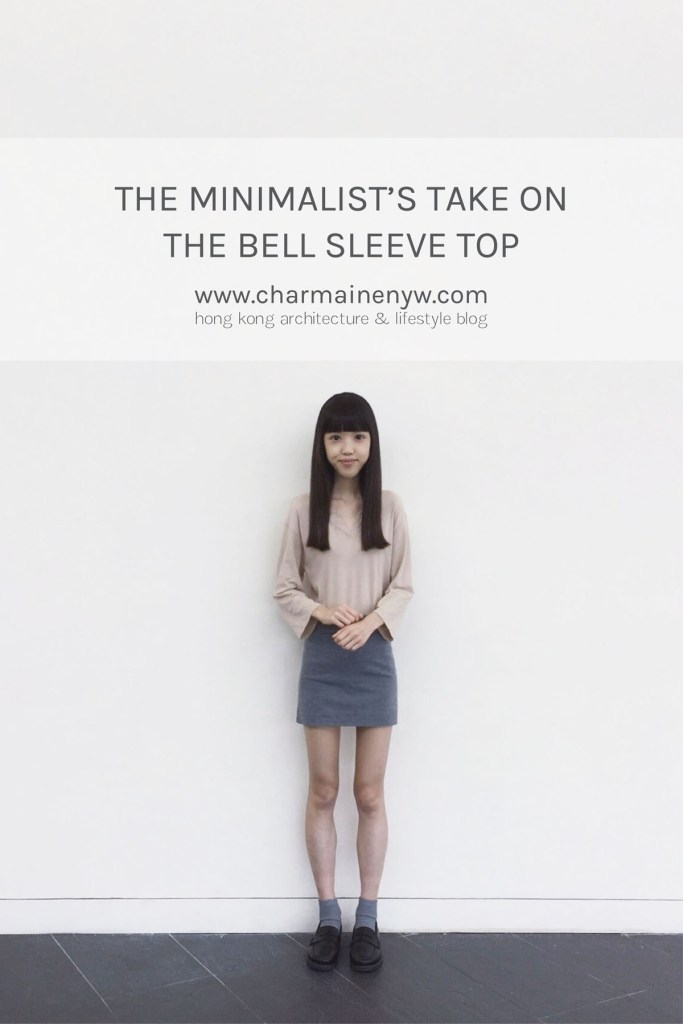 The Minimalist's Take on the Bell Sleeve Top