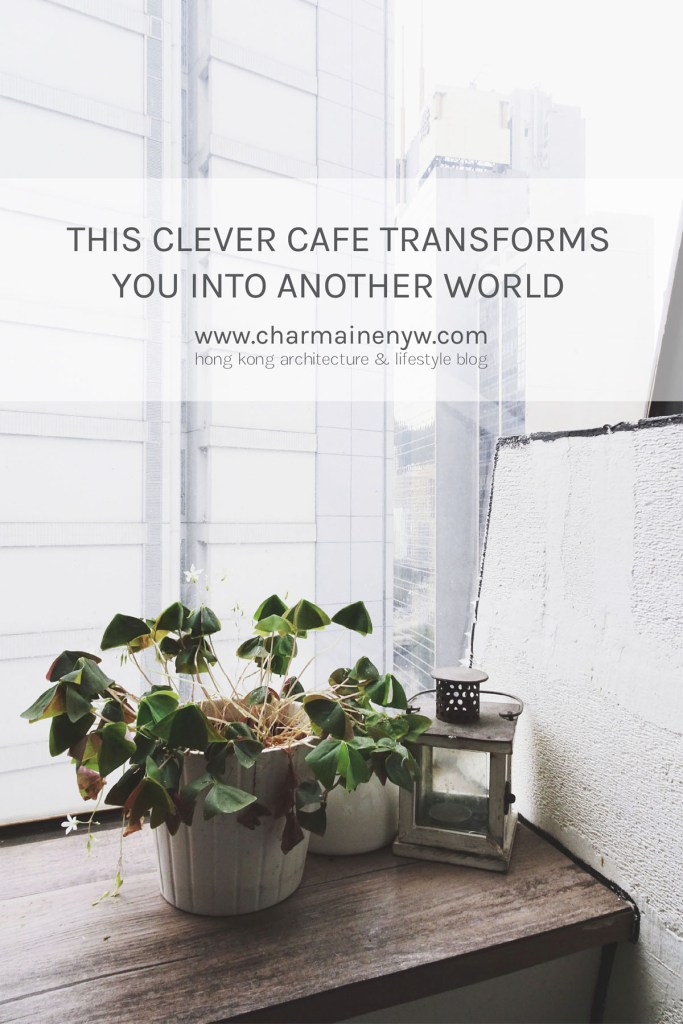 This Clever Café Transforms You into Another World
