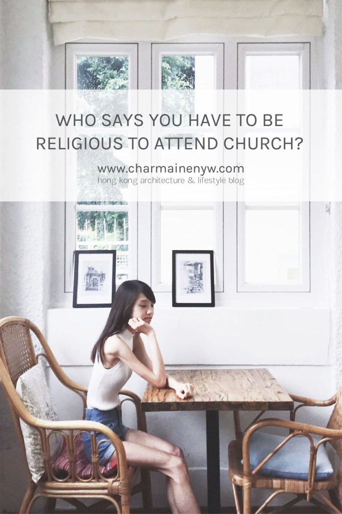 Who Says You Have to Be Religious to Attend Church?