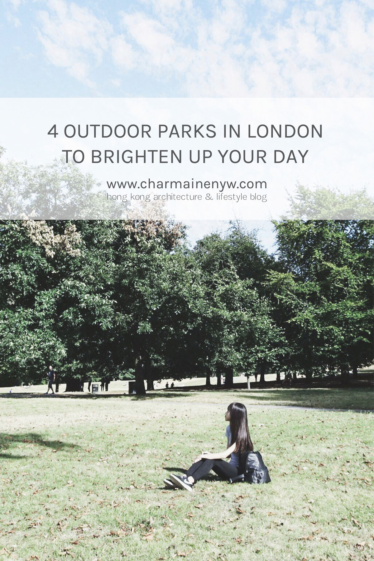 Outdoor parks in London - Greenwich Park